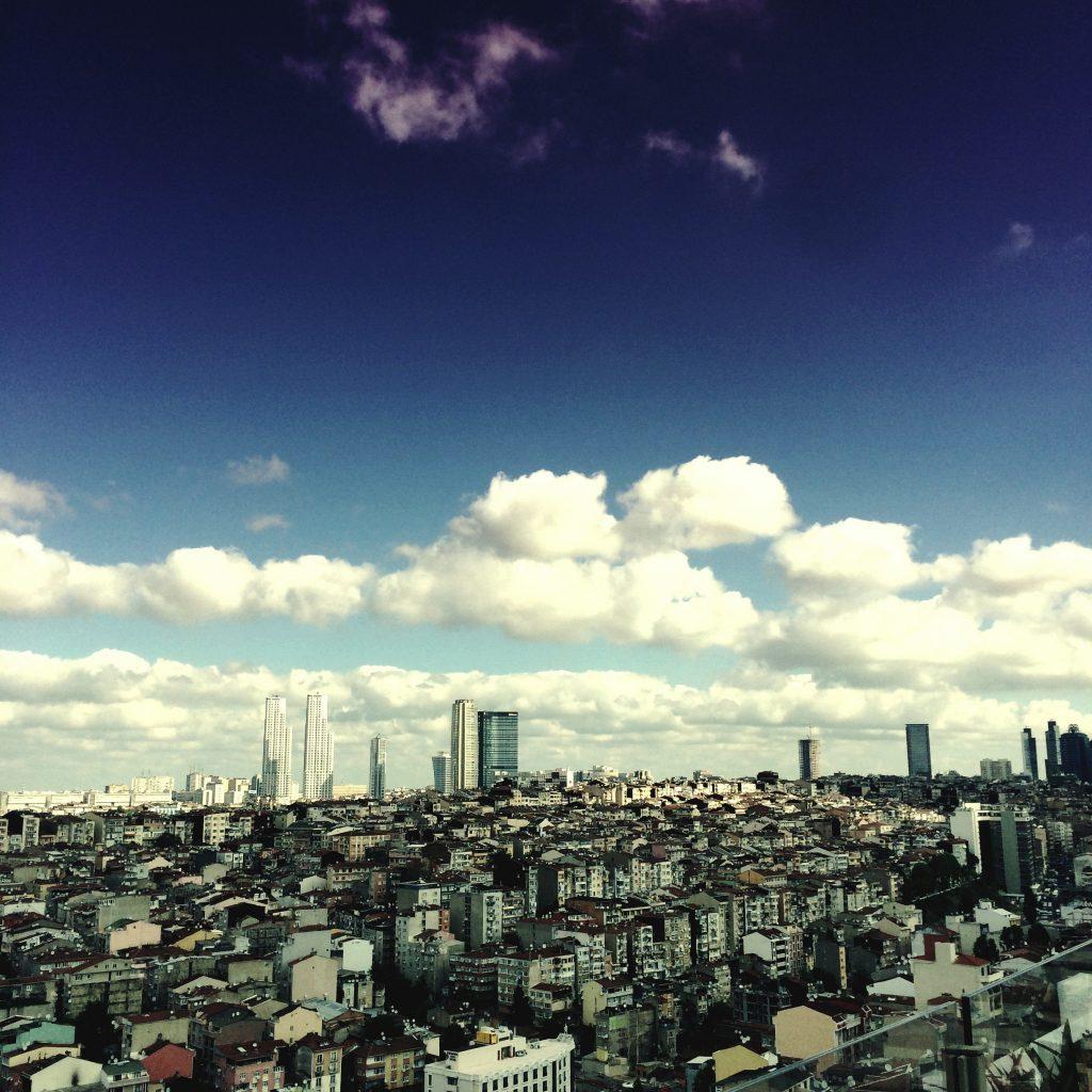 Istanbul Skyline - Istanbul, Turkey 2014