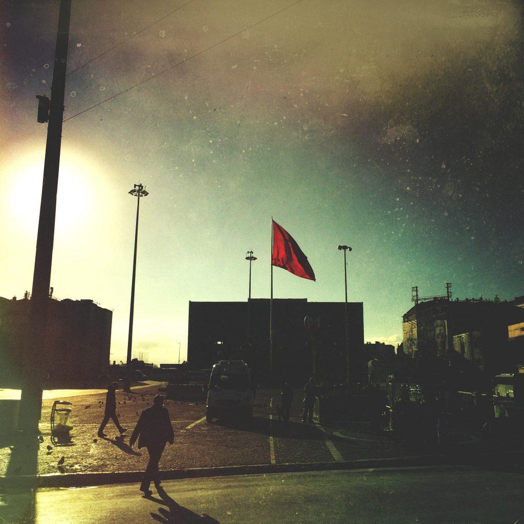 Taksim Square - Dawn - Istanbul, Turkey 2014